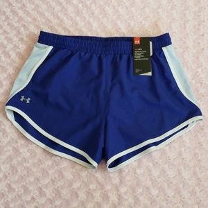 NWT Under Armour Running Shorts with Built in Undi